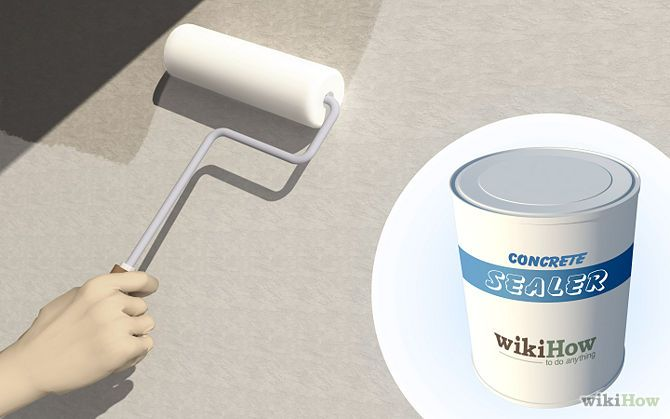 How to paint concrete walls
