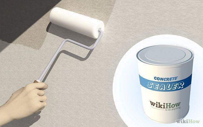 How to paint concrete walls