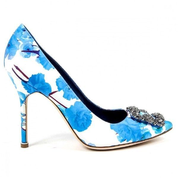 Manolo Blahnik Womens Pump | Bluefly.Com (1,220 CAD) ❤ liked on Polyvore featuring shoes, pumps, multicolor, high heeled footwear, multi colored high heel shoes, high heel shoes, colorful shoes and multi color pumps #manoloblahnikheelscolour