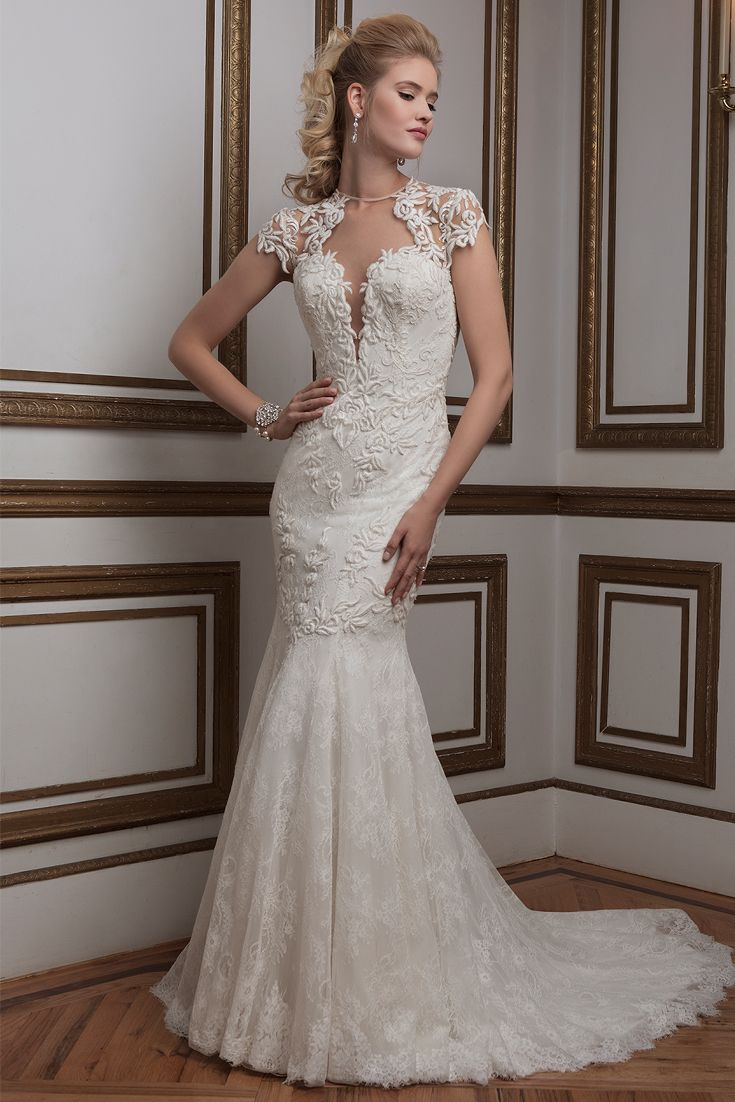 127 best images about lace wedding gowns on pinterest for Justin alexander lace wedding dress