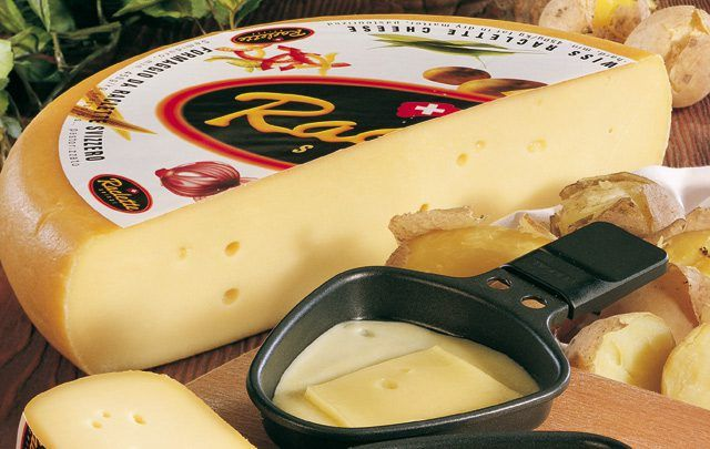 Raclette Suisse - Fromage Suisse