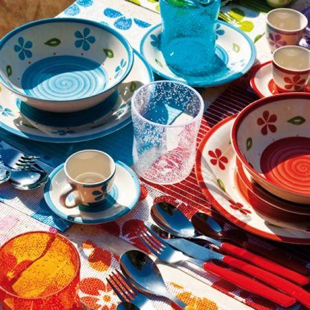 Servizio di piatti campo dei fiori 18 pz la tavola si - Servizi di piatti ikea ...