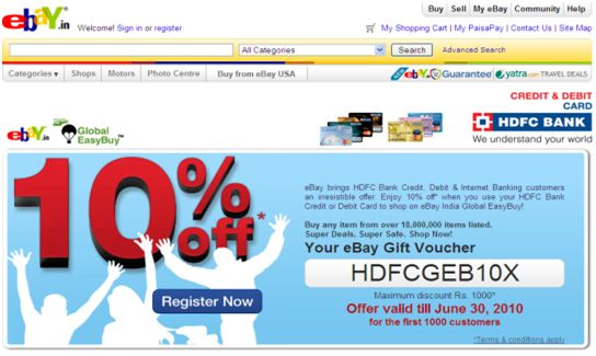 eBay Coupon Discounts & Coupon Codes – If you have wanted to personal a…