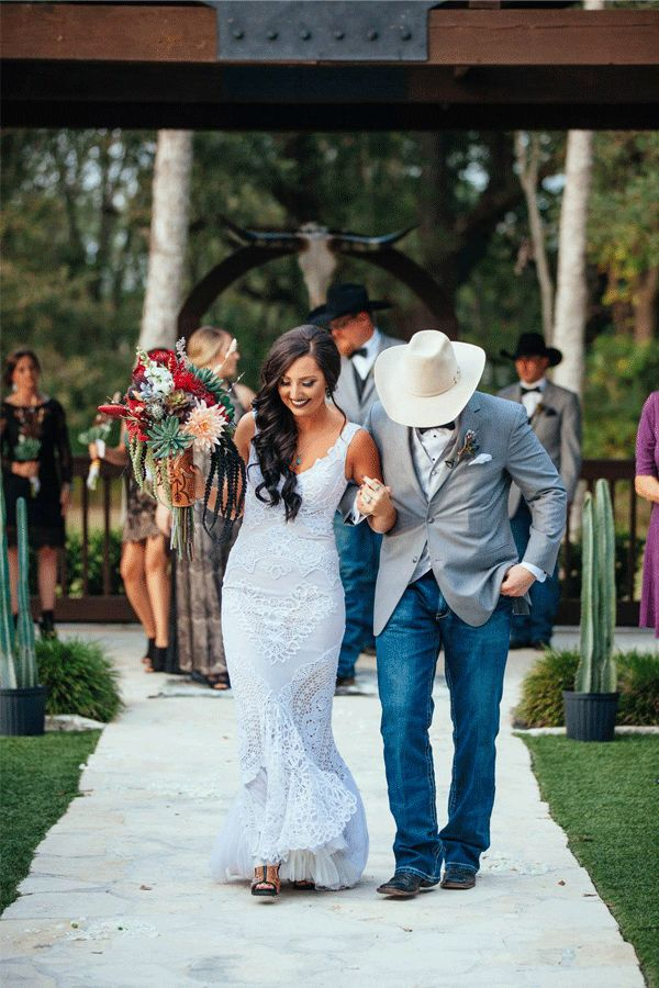 Cowgirl Wedding Dresses To Walk Down The Aisle In - COWGIRL Magazine