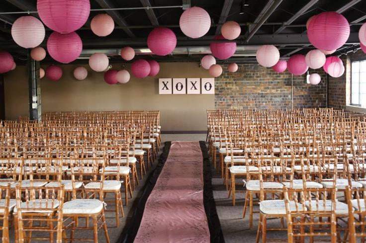 Simple Indoor Wedding Ceremony, My Back Up If It Rains