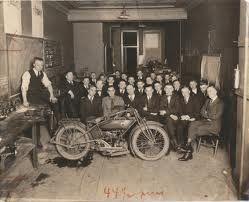 Harley Davidson old photos
