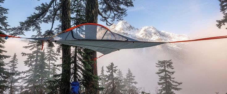 Part tent, part hammock, the ultra-light Flite gives you greater freedom to explore and takes camping to new heights, literally.
