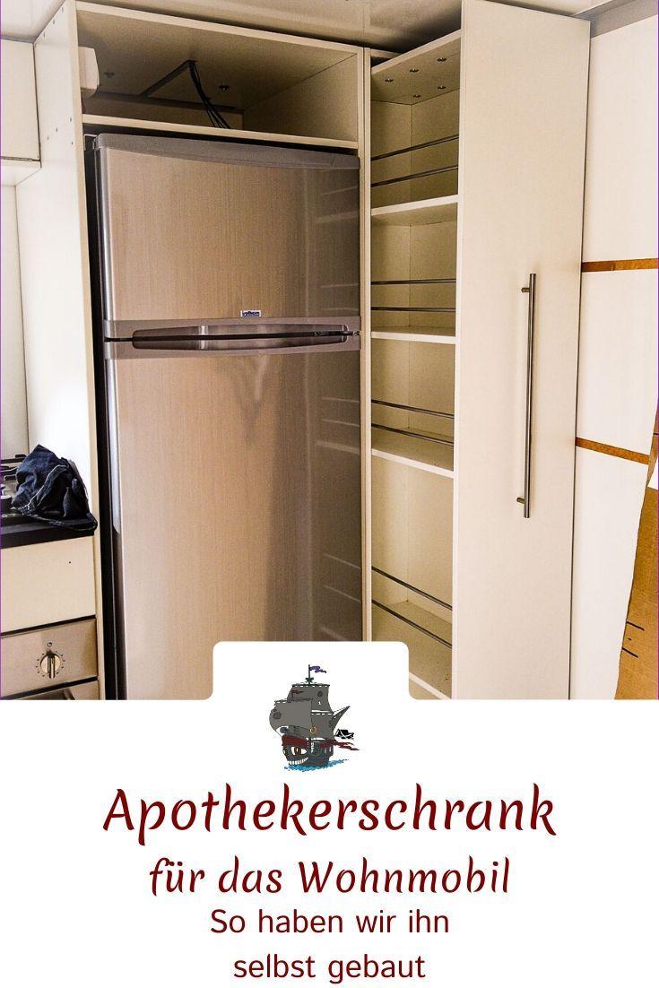 Apothekerschrank Im Wohnmobil Apothekerschrank Wohnmobil Schrank