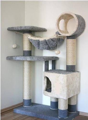 1000 images about rascadores para gatos on pinterest - Casas para gatos de madera ...