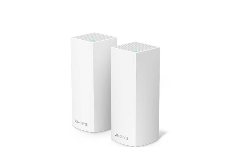 2 Pack Linksys Velop Tri-band Whole Home WiFi Mesh System for $237.99 at Amazon