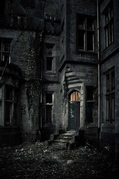 Dark place #gothic #horror #darkness