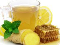 Вода с лимоном и мибирем