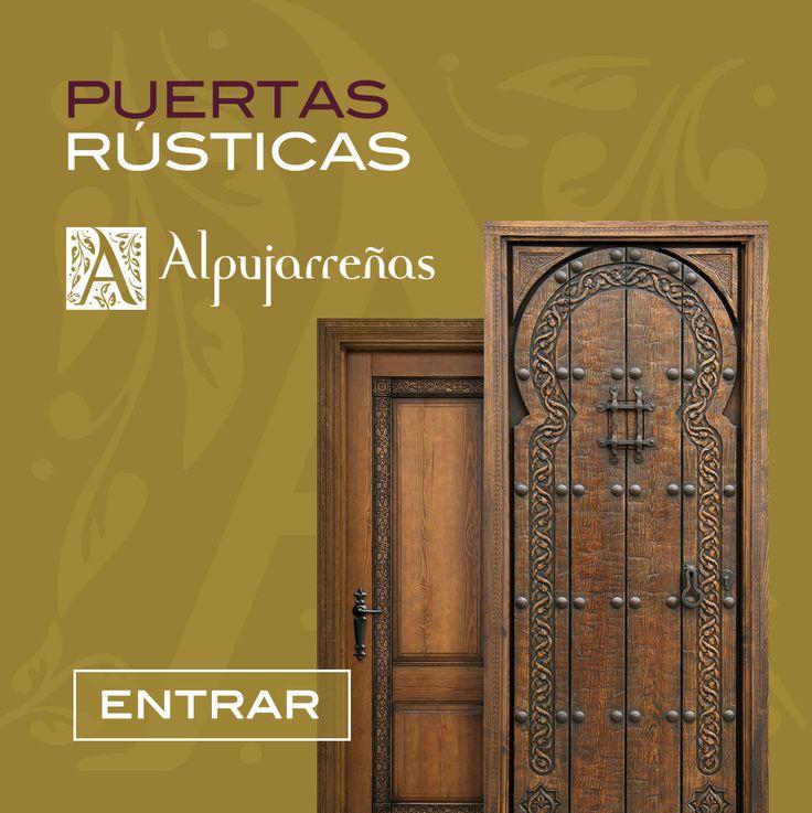 Mejores 7 im genes de puertas de exterior en pinterest for Puertas rusticas interior
