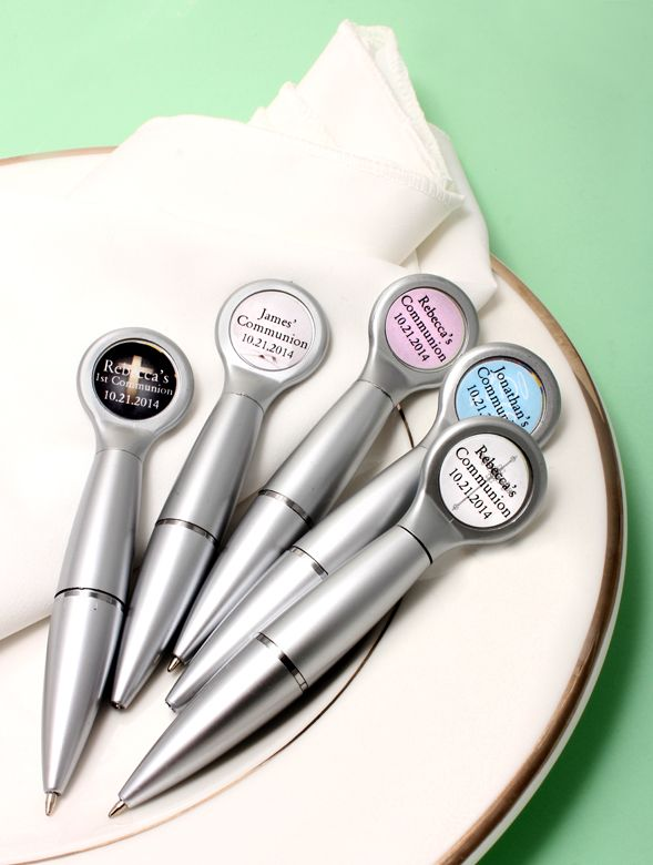 Communion favor magnet pens