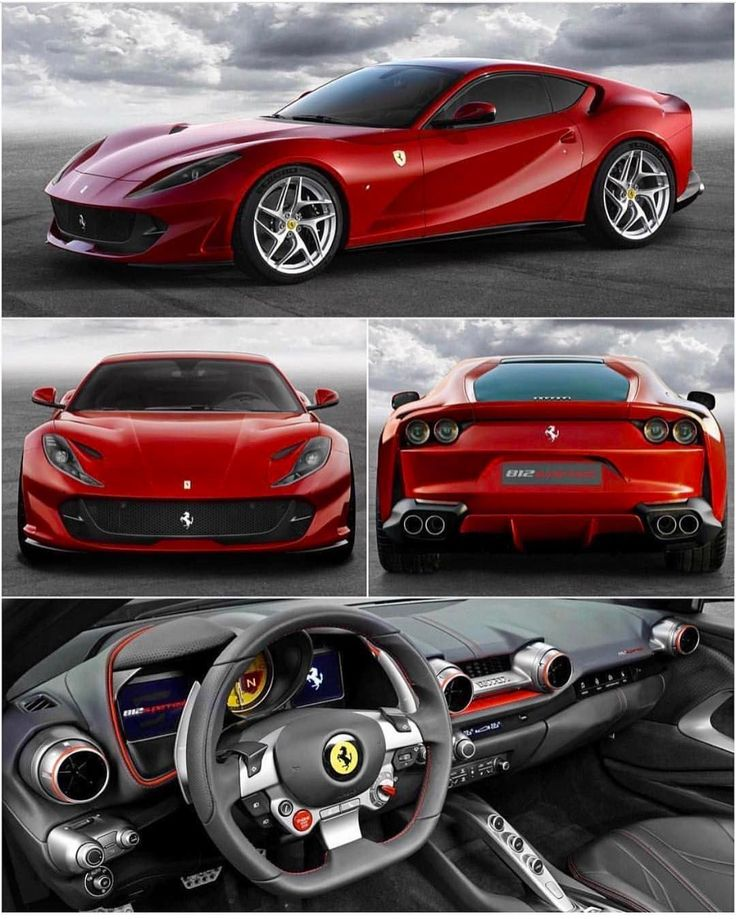 The new Ferrari 812 superfast 789hp and 530 ft.lb. The dual-clutch…""