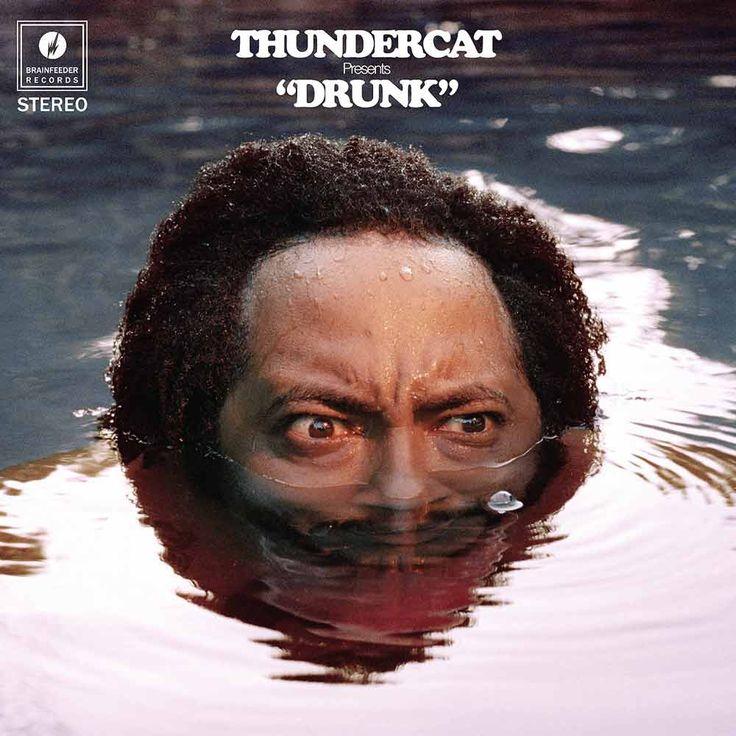 Adam Stover, Eddie Alcazar and Zack Fox's dark, humorous and psychedelic artwork for Thundercat (Stephen Bruner)'s latest album Drunk
