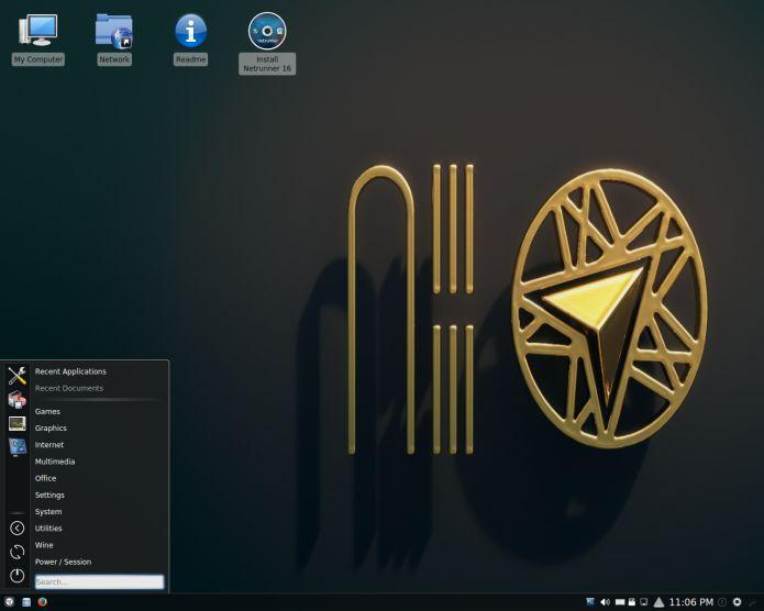 O projeto Netrunner lançou uma nova versão de sua distribuição: Netrunner 16.09 Core. Conheça mais um pouco sobre ela e descubra onde baixar a distro.  Burg no Ubuntu  Embeleze o menu de inicialização do sistema  Como instalar o Grub Customizer no Ubuntu  Como instalar o Grub Customizer no Debian Ubuntu e derivados  Como esconder o menu de inicialização do Grub  Recuperando o boot do Linux (Grub) depois de instalar o Windows  Como fazer para o GRUB exigir uma senha para iniciar o sistema…