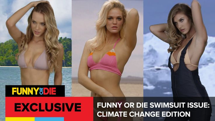 Supermodels Erin Heatherton​, Caroline Lowe, and Hannah Ferguson​ take you behind the scenes of our climate-change themed swimsuit issue to the exotic locations where they were photographed in bikinis against dramatic backdrops of extreme drought, rising sea levels, and melting ice caps.