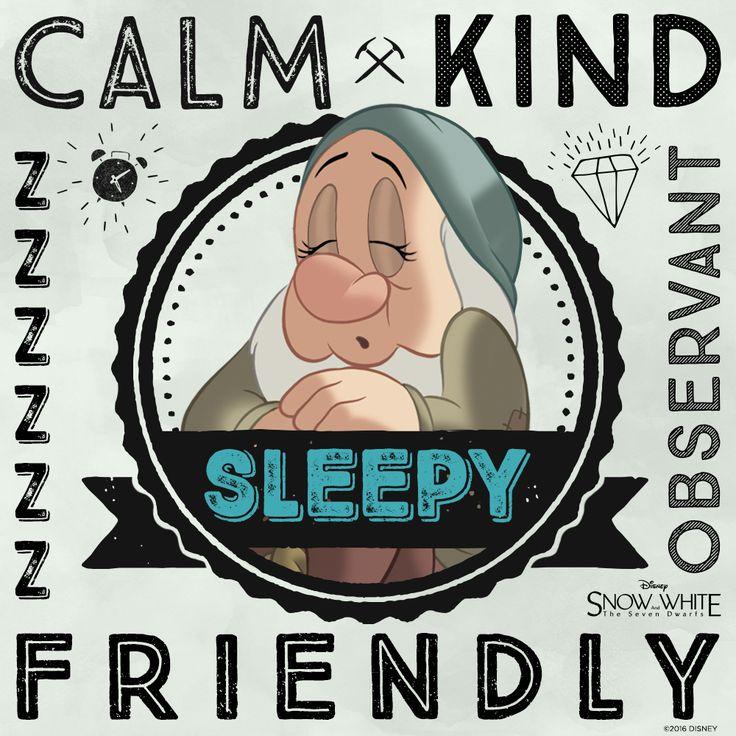 Meet Sleepy | Snow White and the Seven Dwarfs