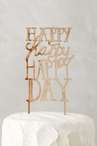 Here's to a happy day!