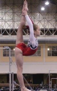 Norah Flatley, 12 yr old level 10 gymnast at Chow's, 2016 Olympic hopeful
