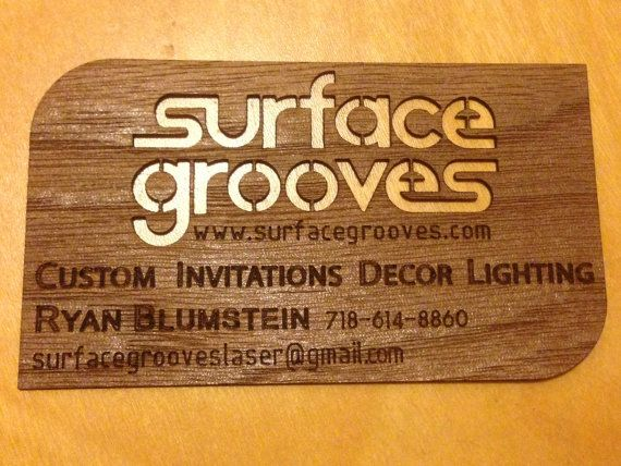 WOOD PAPER Business Cards
