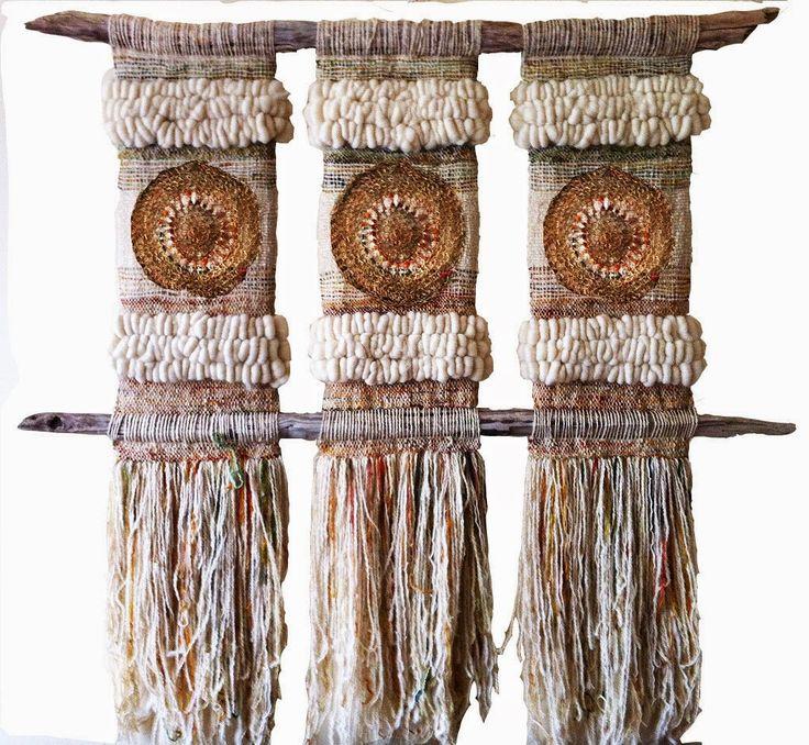 Galería de Arte Textil, obras inspiradas en paisajes y elementos de la naturaleza de la Región de los Lagos en el Sur de Chile.
