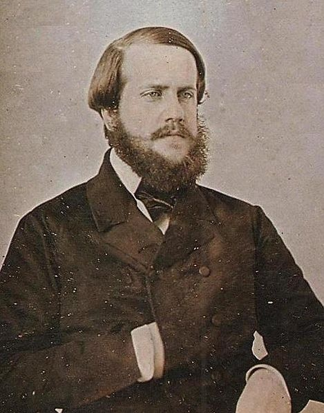 Emperor Don Pedro II of Brazil, 1853.