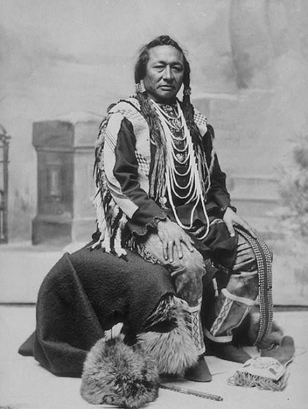 Imasees (aka Little Bear) the son of Big Bear - Cree - 1897