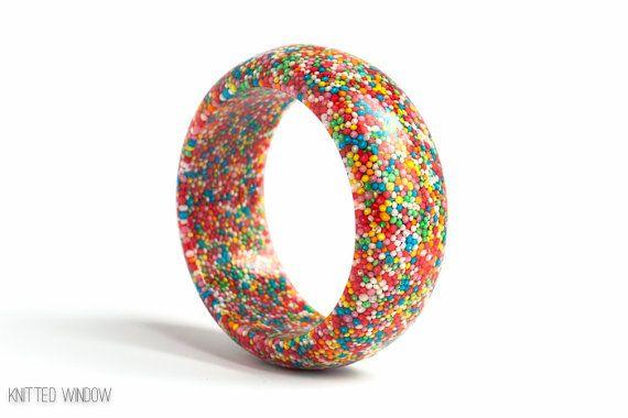 Candy 100's & 1000's Rainbow Sprinkles by ArcticGlassStudios