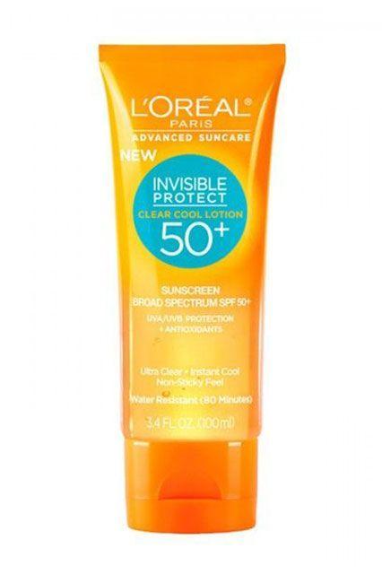 L'Oreal invisible protect sunscreen