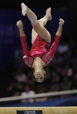 Fast-rising Needham gymnast Alexandra Raisman has a good chance of making the US Olympic team.