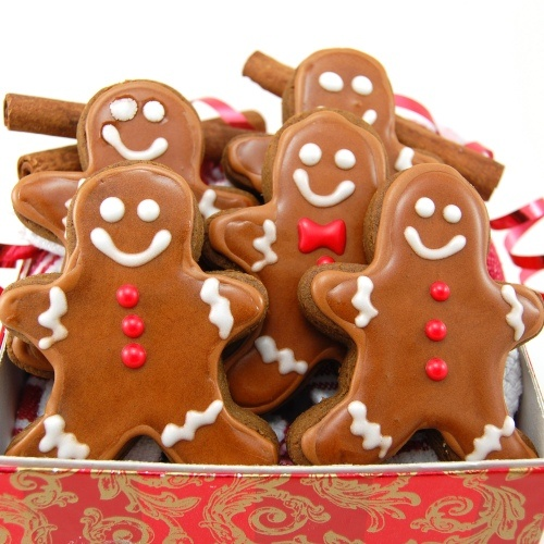 Thick and Chewy Gingerbread Cookies!
