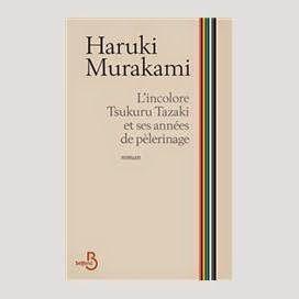TL'incolore Tsukuru Tazaki et ses anneés de pèlerinage.