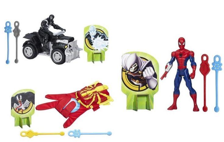 Spider-man, Marvel, Hasboro, Superhero, Villains, Agent Venom, Toys, Boys