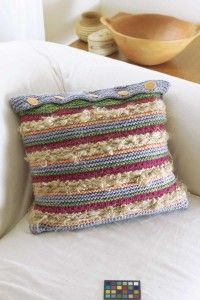 Learn to knit fun, fanciful, and fuzzy pillows with these quick and easy knitting patterns.