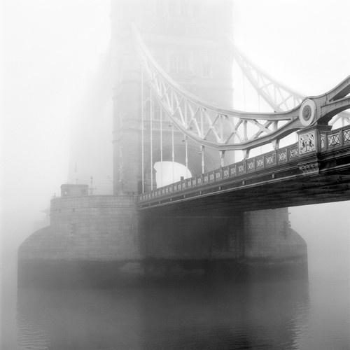 London Bridge in Fog by rbozuk on etsy