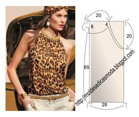 Fashion Templates for Measure: BLOUSE EASY TO DO - 25