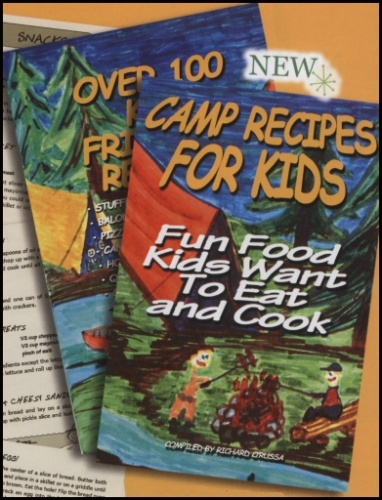Camp Recipes for Kids Book