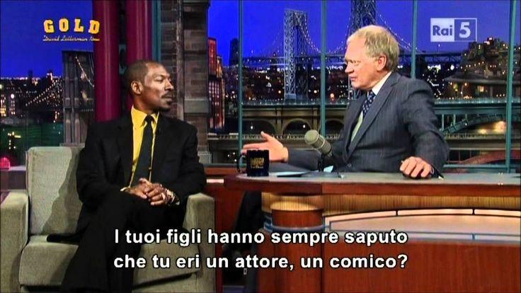 Eddie Murphy al David Letterman Show