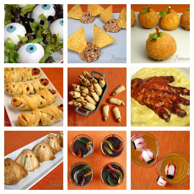 Anita Cocinitas: Especial Recetas de Halloween