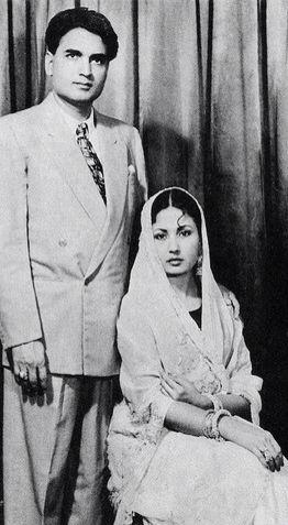 Childhood & Family pictures: Meena Kumari and Kamal Amrohi