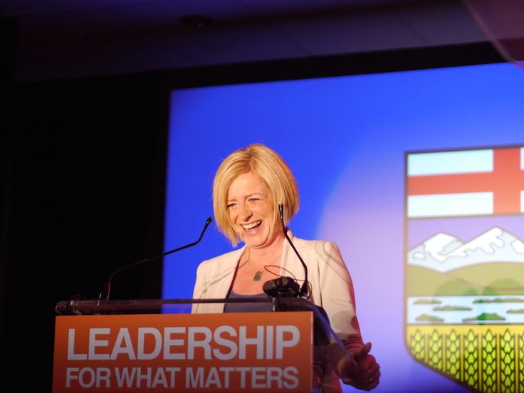 PHOTOS: Rachel Notley celebrates her victory on the night of May 5, 2015. Below: Ms. Notley again, the same night, still celebrating; defeated Progressive Conservative Premier Jim Prentice as seen via TV at NDP headquarters conceding to the NDP; a small corner of the crowd at NDP election headquarters in Edmonton. Today marks the second …