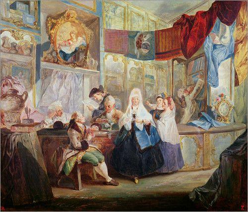 Luis Paret y Alcazar - Interior of a Shop
