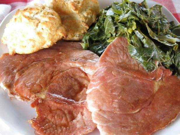 Get Virginia Country Ham Steaks with Redeye Gravy Recipe from Cooking Channel