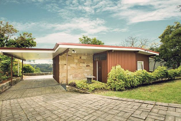 155 best images about mid century modern curb appeal on for Ranch style homes australia