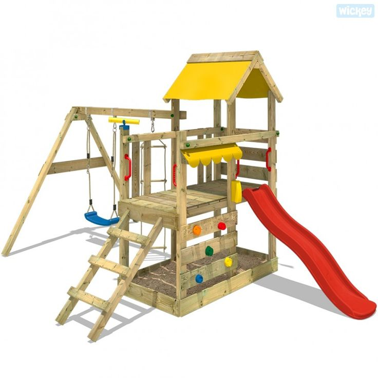 Spielturm mit Rutsche Turboflyer | Kletterturm 625400_k
