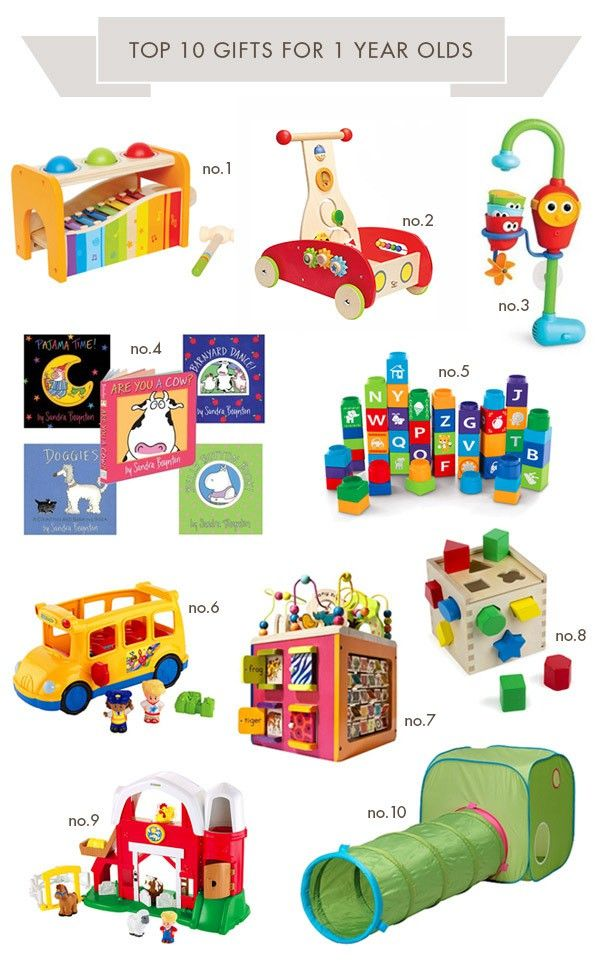 Top Ten Gifts for One Year Olds | Hellobee