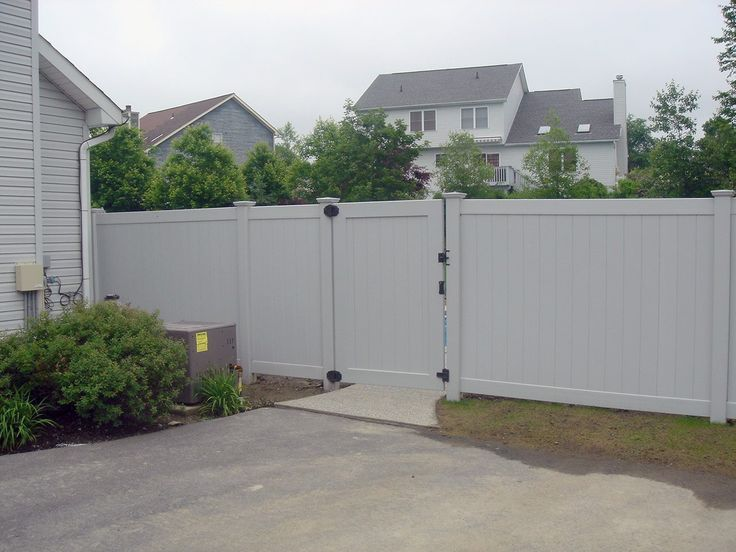 17 Best Images About Pvc Fence For Garden On Pinterest