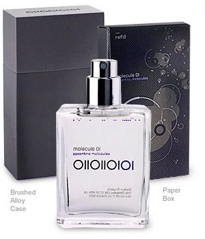 Molecule 01 - Travel Spray Eau de Toilette by Escentric Molecules, at Luckyscent. Hard-to-find fragrances, niche brand perfumes,  and other under-the-radar luxuries.
